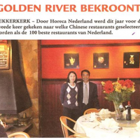Golden River bekroont